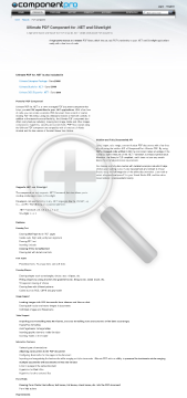 PDF Component for NET preview. Click for more details