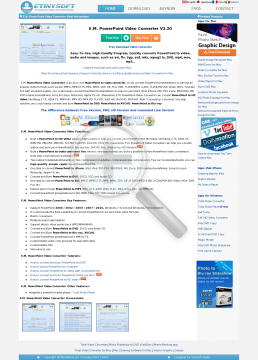 PowerPoint Video Converter preview. Click for more details