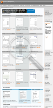 Sales invoice with tax shipping and handling preview. Click for more details