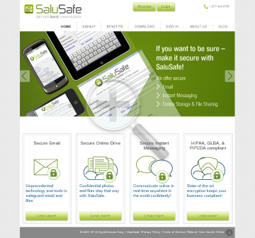 SaluSafe Business preview. Click for more details