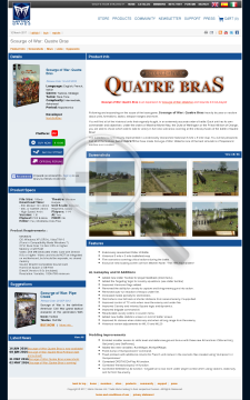Scourge of War Quatre Bras preview. Click for more details