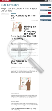 SEO Campaigns Monthly Contract preview. Click for more details