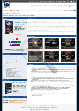 Smugglers IV Doomsday preview. Click for more details