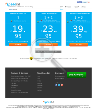 Speedbit Acceleration Pack preview. Click for more details