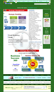 STRATEGIC MANAGEMENT Ten3 Minicourse with Consultant License preview. Click for more details