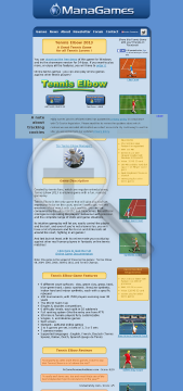 Tennis Elbow 2006 Windows version preview. Click for more details