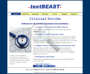 textBEAST clipboard manager preview. Click for more details