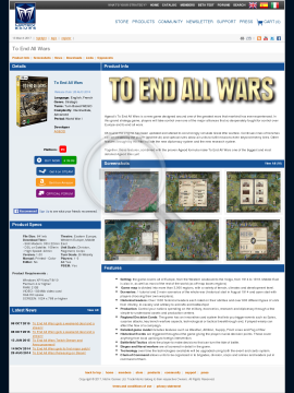 To End All Wars preview. Click for more details