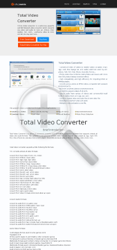 Total Video Converter preview. Click for more details