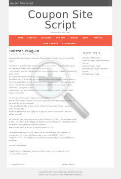 Twitter Plugin preview. Click for more details