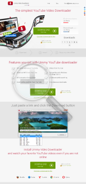 Ummy Video Downloader WinOS preview. Click for more details
