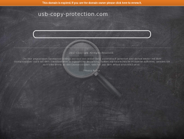 USB Copy Protection preview. Click for more details
