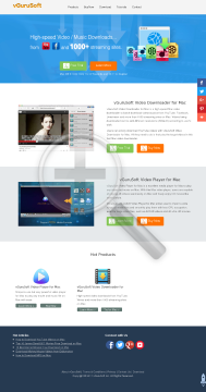 vGuruSoft Video Toolbox for Mac preview. Click for more details