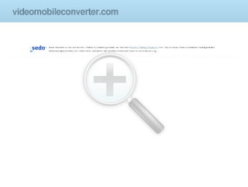 Video Mobile Converter preview. Click for more details