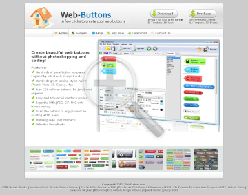 Web Buttons preview. Click for more details