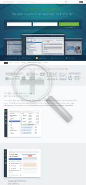 WebSite Auditor preview. Click for more details