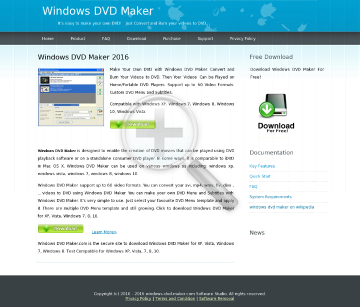 Win DVD Maker preview. Click for more details