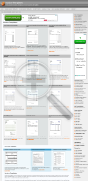 Word services invoice simple line design preview. Click for more details