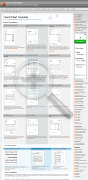 Word services invoice with total only preview. Click for more details