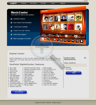 Zenpoint DigitalCenter preview. Click for more details